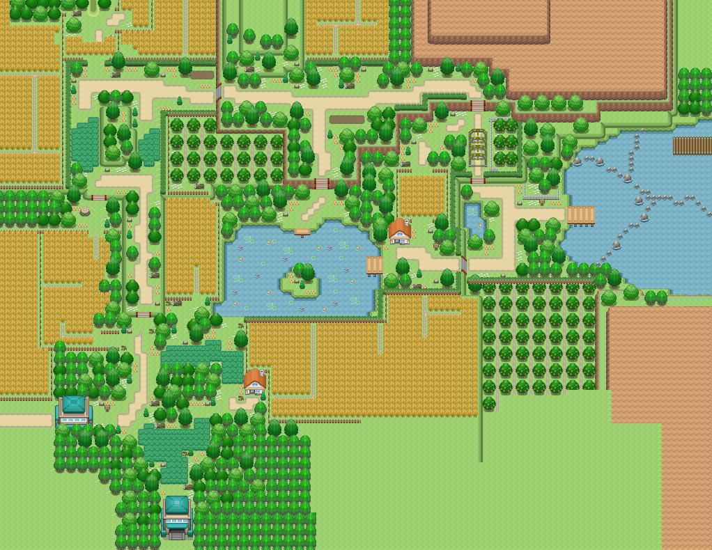 Route 8 Pokémon Uranium Wiki Fandom Powered By Wikia