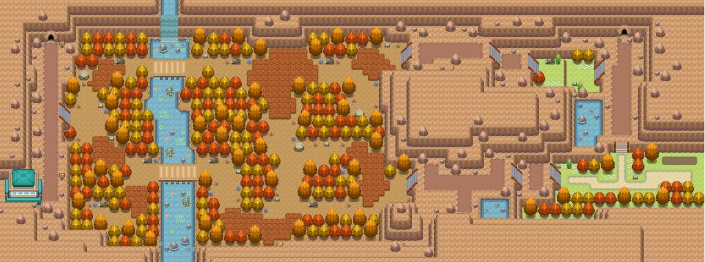 Route 6 Pokémon Uranium Wiki Fandom Powered By Wikia