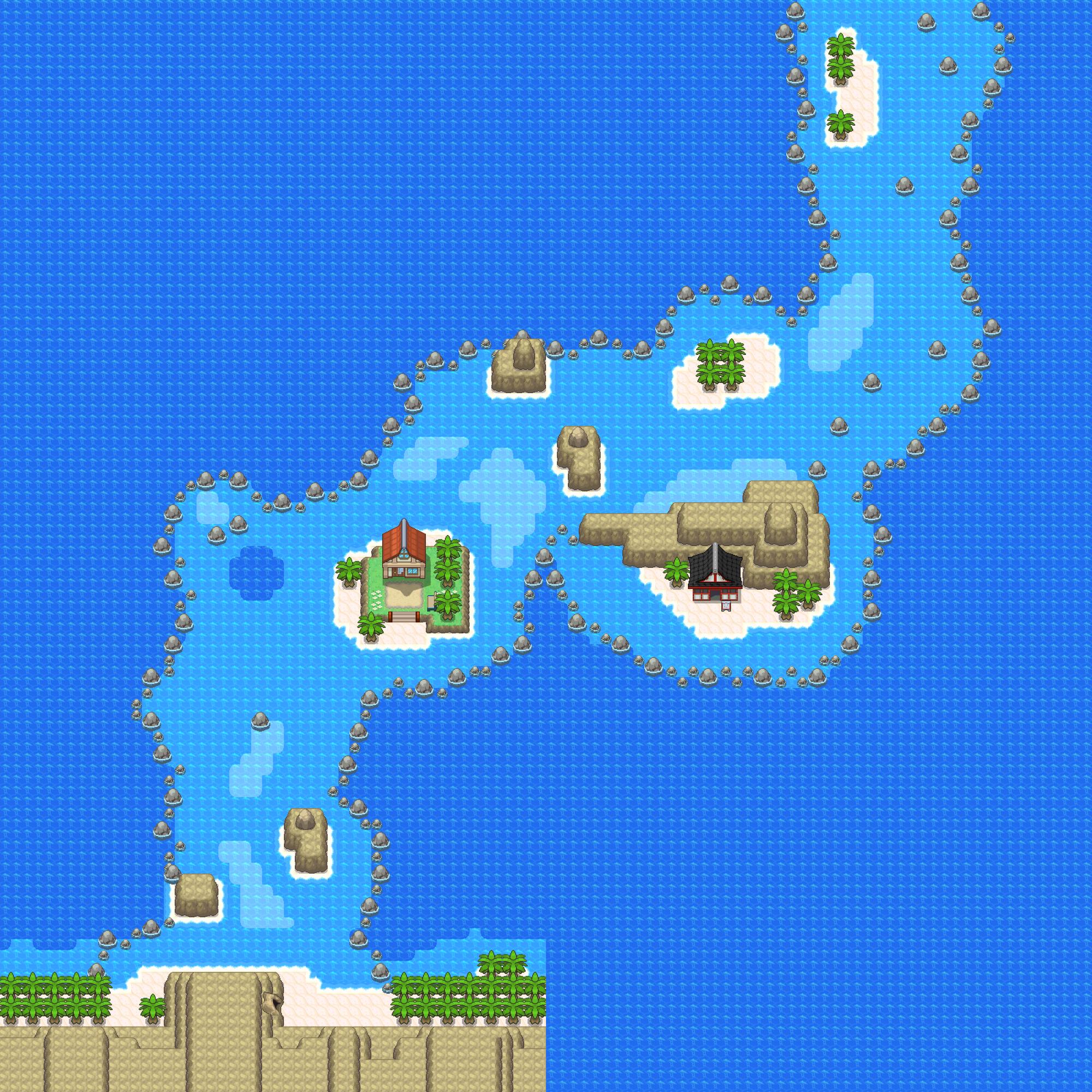 Route 15 Pokémon Uranium Wiki Fandom Powered By Wikia