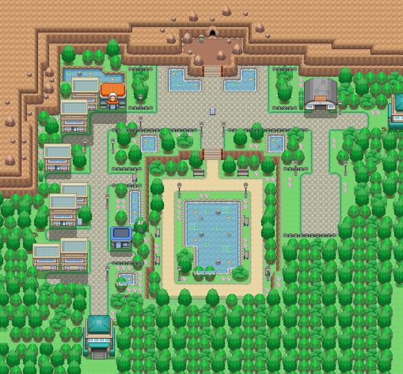 Burole Town Pokémon Uranium Wiki Fandom Powered By Wikia