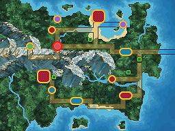 Legen Town Map