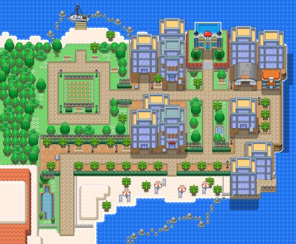 Bealbeach City Pokémon Uranium Wiki Fandom Powered By Wikia