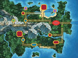 Rochfale Town Map