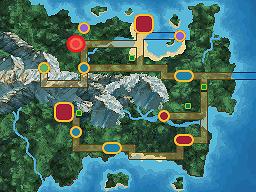 Vinoville Town Map