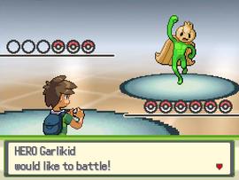 HeroGarlikid battle