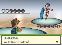 Gym Leader Cali