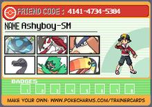 Pokémon Moon Trainer Card-Ashyboy-SM