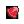 도트 아이콘 빨간비늘