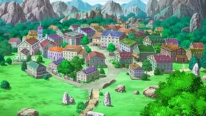 애니메이션에서의 옥유마을