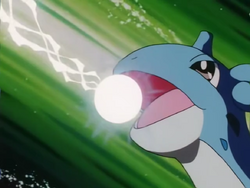 Ash Lapras Ice Beam