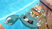 Ultra Guardian Sophocles's Ride Metang