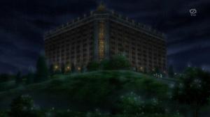애니메이션에서의 황폐해진 호텔