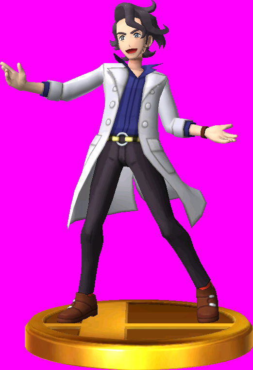 Professor Sycamore trophy SSB3DS