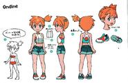Misty Lets Go Pikachu Eevee-Concept Art