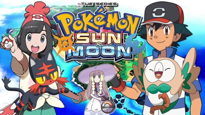 Pokemon Sun and Moon Poster