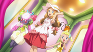 Serena, Bonnie and Diancie outfits 2