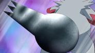 Weiss Zangoose Iron Tail