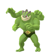 Machamp GO Shiny
