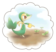 Snivy-Dream-World-Bubble-Artwork2