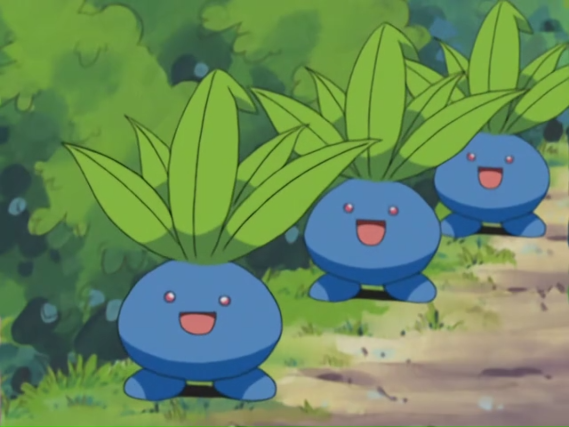 Image result for pokemon tv show oddish