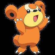216Teddiursa OS anime 4