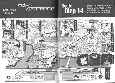 Adventures volume 14 map