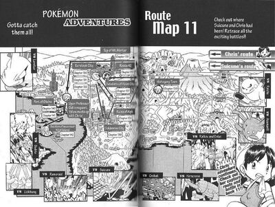 Adventures volume 11 map