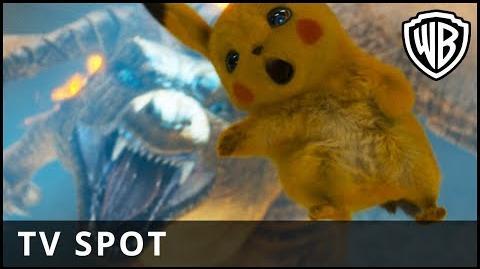 POKÉMON Detective Pikachu – Big Spot - Warner Bros