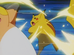 Ash Pikachu Electric Slam