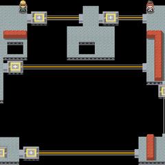다이아몬드·펄, 플라티나에서의 내부 지하 2층