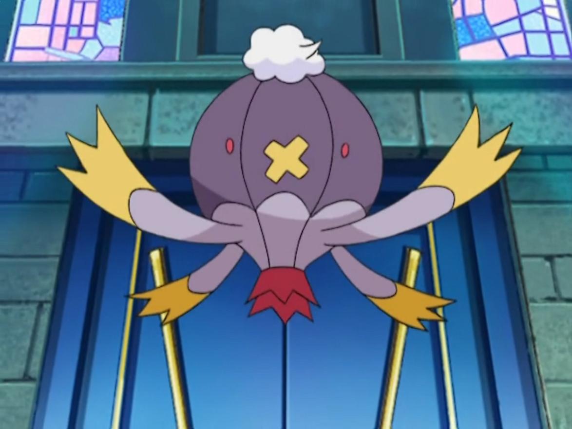 Fantina Drifblim anime