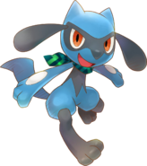 447Riolu Pokémon Super Mystery Dungeon