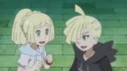Lillie and Gladion