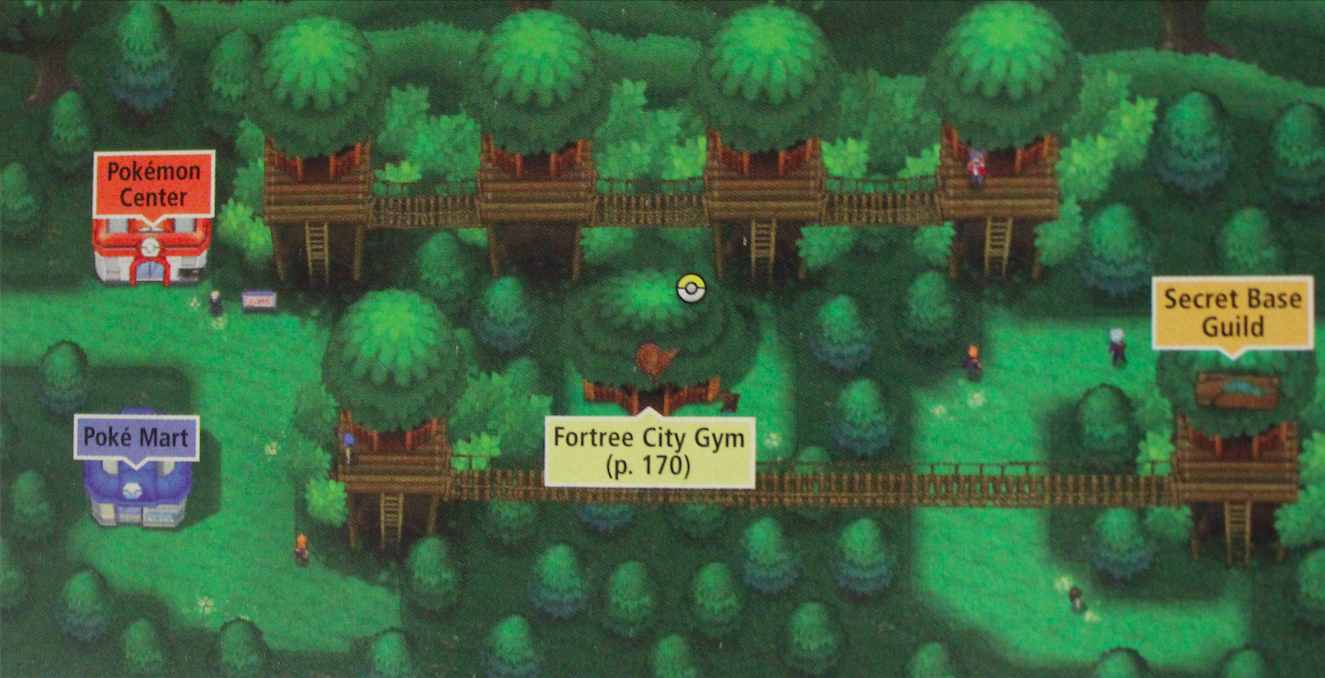 Fortree City Pokmon Wiki Fandom Powered By Wikia Power Plant Layout Pokemon Yellow Current