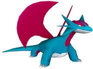 373Salamence Pokemon PokéPark