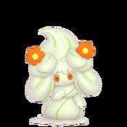 869Alcremie Matcha Cream Flower Sweet Pokémon HOME