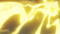 Ash Pikachu Thunderbolt