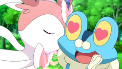 Penelope Sylveon Draining Kiss