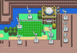 골짜기 발전소