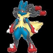 448Lucario Mega Pokémon HOME