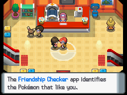 pokemon light platinum happiness checker