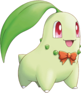 152Chikorita Pokemon Mystery Dungeon Explorers of Sky