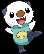 501Oshawott BW anime 5