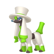 676Furfrou Dandy Trim Pokémon HOME