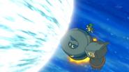 Ridley Golurk Flash Cannon