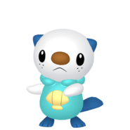 501Oshawott Pokémon HOME