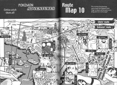 Adventures volume 10 map