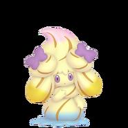 869Alcremie Rainbow Swirl Ribbon Sweet Pokémon HOME