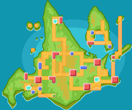 Sinnoh mapa jocs