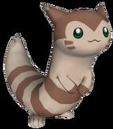 162Furret Pokémon PokéPark